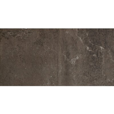 Imagica 8 x 48 Porcelain Field Tile in Midnight