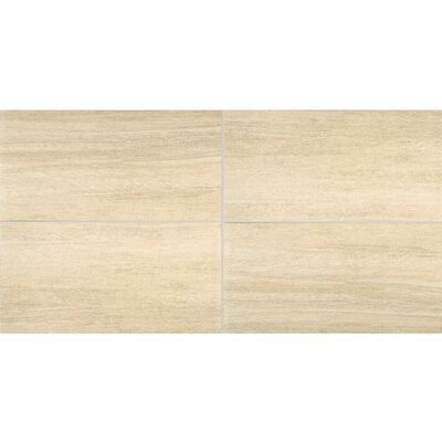 Bay Bridge 12 x 12 Porcelain Wood Look/Field Tile in Vista