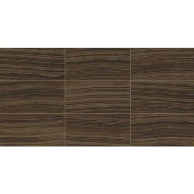 Santino 12 x 24 Porcelain Wood Look/Field Tile in Bruno