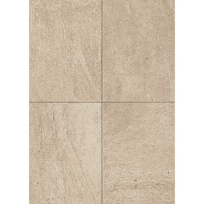 Avondale 12 x 24 Porcelain Field Tile in Chateau Creme