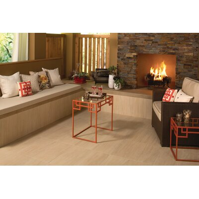 Marin 24 x 24 Porcelain Wood Look/Field Tile in Ashwood