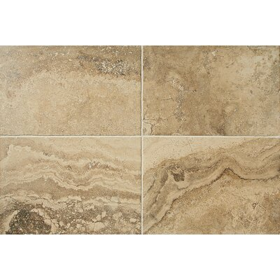 Cortona 16 x 24 Polished Glazed Porcelain Field Tile in Mediterranean Sand