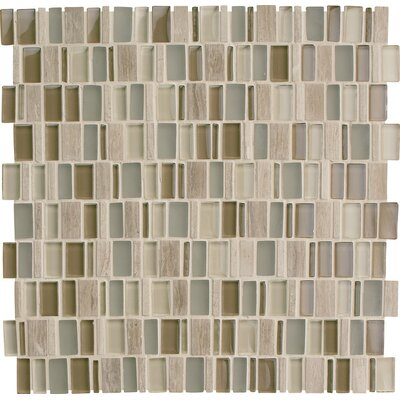 Clio 1 x Random Sized Glass Mosaic Tile in Hera