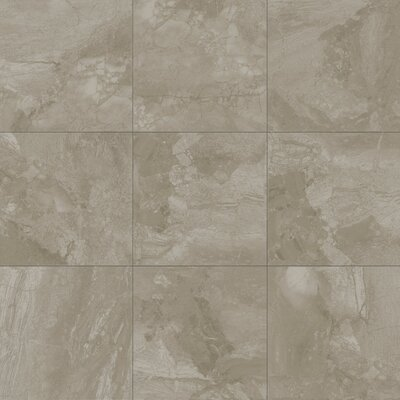 Bedford 8 x 8 Ceramic Tile in Gray Pearl