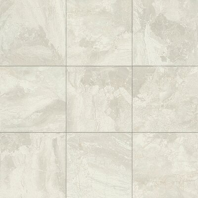 Marble Falls 4 x 8 Ceramic Field Tile in White Water
