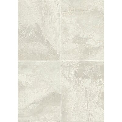 Marble Falls 10 x 14 Field Tile in White Water