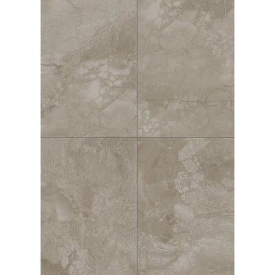 Marble Falls 10 x 14 Ceramic Field Tile in Gray Pearl