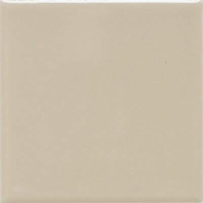 Modern Dimensions 12.75 x 4.25 Surface Bullnose Tile Trim in Matte Urban Putty