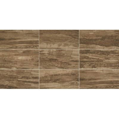 River Marble 6 x 24 Porcelain Field Tile in Muddy Banks