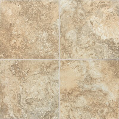 San Michele Cross Cut 24 x 24 Field Tile in Dorato