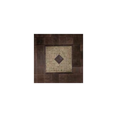 Ion Metals 6 x 1 Porcelain Tile in Antique Bronze