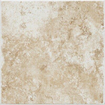 Fidenza 18 x 18 Porcelain Field Tile in Bianco