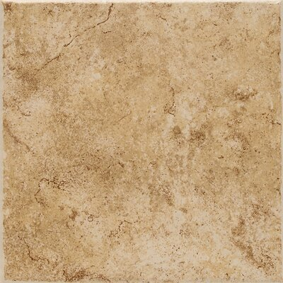 Fidenza 18 x 18 Porcelain Field Tile in Dorado