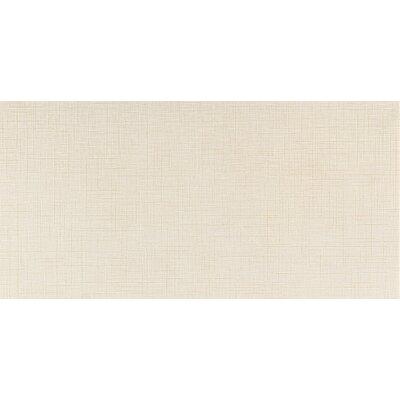 Kimona Silk 12 x 24 Field Tile in White Orchid