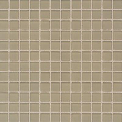 Tile frosted mushroom 1 quot x 1 quot p65311fms1p glass tile backsplash