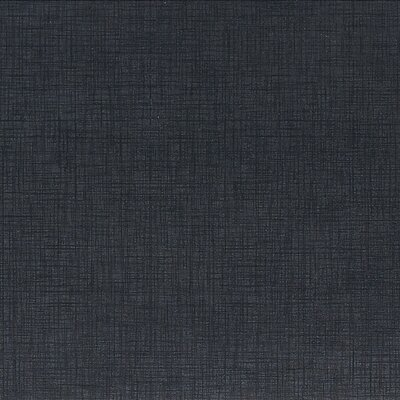 Cantrell 12 x 12 Porcelain Fabric Look/Field Tile in Panda Black
