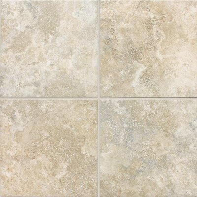 Aguirre 18 x 18 Field Tile in Crema