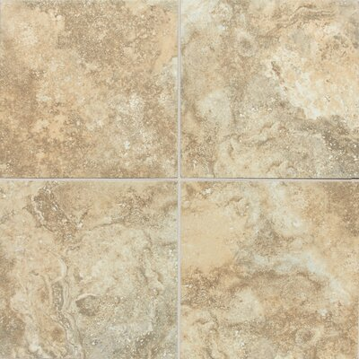 San Michele 18 x 18 Porcelain Field Tile in Dorato