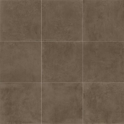 Portfolio 24 x 24 Porcelain Field Tile in Fango
