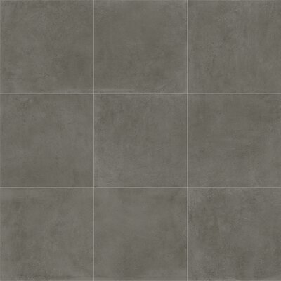 Fairfield 24 x 24 Porcelain Field Tile in Iron Gray