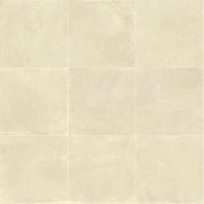Portfolio 24 x 24 Porcelain Field Tile in Cream