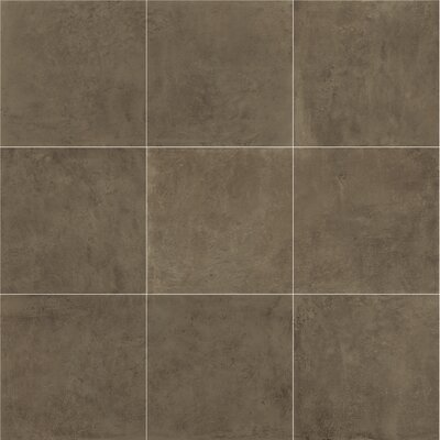 Portfolio 24 x 24 Porcelain Field Tile in Chocolate