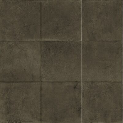 Fairfield 24 x 24 Porcelain Field Tile in Charcoal