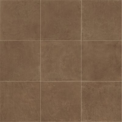 Portfolio 24 x 24 Porcelain Field Tile in Cotto