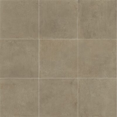 Fairfield 24 x 24 Porcelain Field Tile in Noce