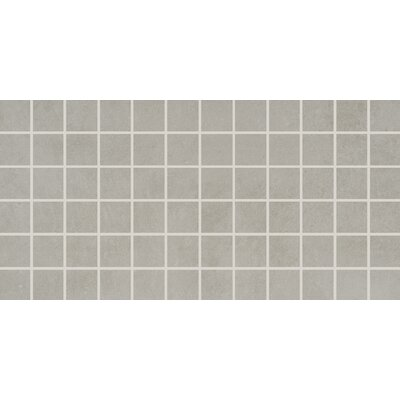 Portfolio 2 x 2 Porcelain Mosaic Tile in Dove Gray
