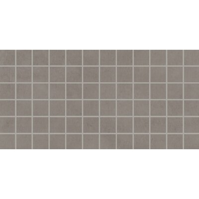 Fairfield 2 x 2 Porcelain Mosaic Tile in Ash Gray
