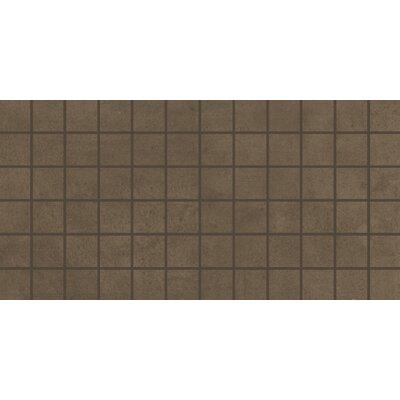Portfolio 2 x 2 Porcelain Mosaic Tile in Chocolate