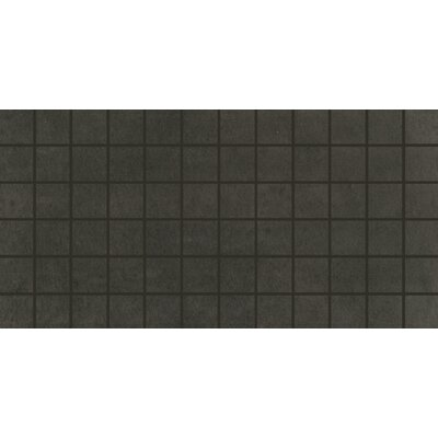 Portfolio 2 x 2 Porcelain Mosaic Tile in Charcoal