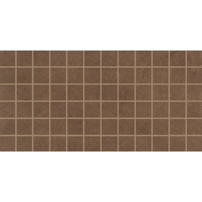 Portfolio 2 x 2 Porcelain Mosaic Tile in Cotto