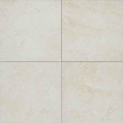 Round Rock 20 x 20 Porcelain Field Tile in Mineral