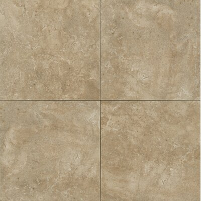 Round Rock 13 x 13 Porcelain Field Tile in Basalt
