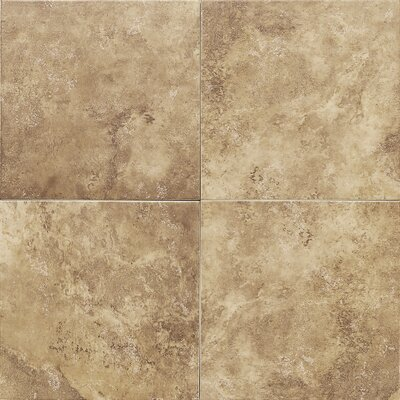 Salerno 12 x 12 Porcelain Field Tile in Marrone Chiaro