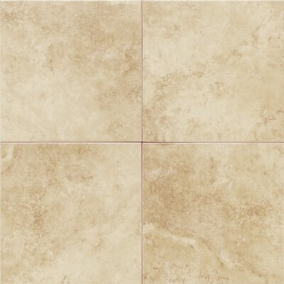 Salerno 18 x 18 Porcelain Field Tile in Nubi Bianche