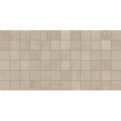 Slate Attache 12 x 24 Porcelain Field Tile in Meta Beige
