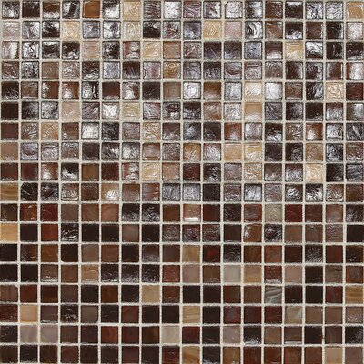 City Lights 1/2 x 1/2 Glass Mosaic Tile in Bangkok
