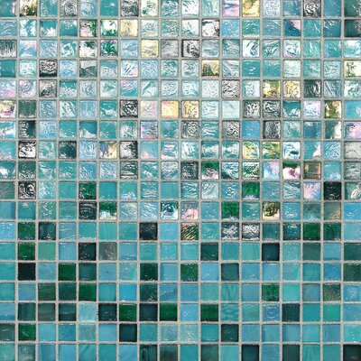 City Lights 0.5 x 0.5 Glass Mosaic Tile in Honolulu