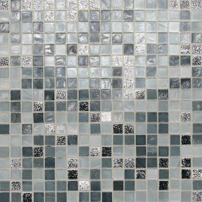 City Lights 0.5 x 0.5 Glass Mosaic Tile in London