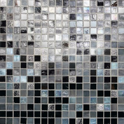 City Lights 0.5 x 0.5 Glass Mosaic Tile in Manhattan