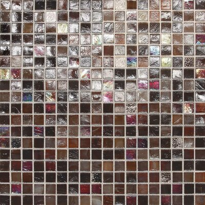 City Lights 0.5 x 0.5 Glass Mosaic Tile in Monte Carlo