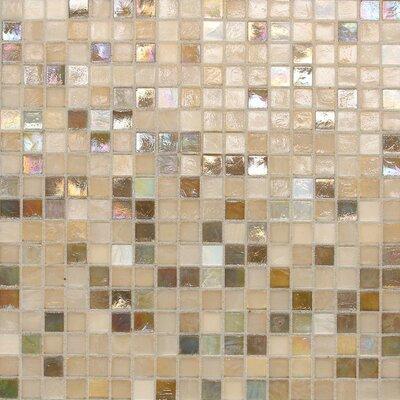 City Lights 0.5 x 0.5 Glass Mosaic Tile in Unpolished Paris