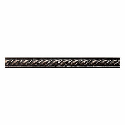Ion Metals 0.5 x 6 Metal Rope Liner Tile in Antique Bronze