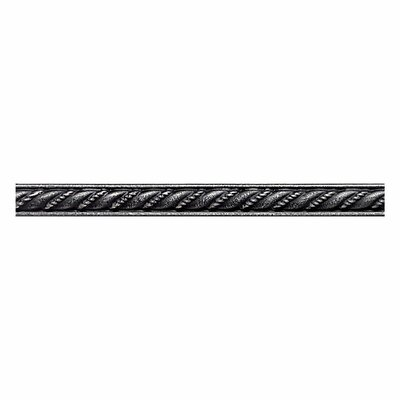 Ion Metals 6 x 1/2 Decorative Rope Liner in Antique Nickel