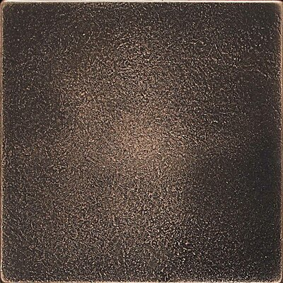 Ion 4.25 x 4.25 Metal Field Tile in Antique Bronze