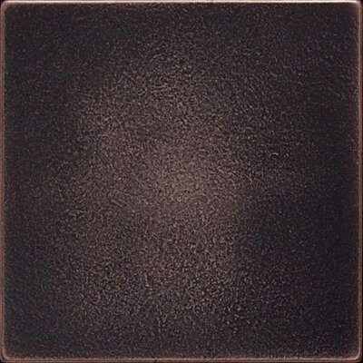 Ion 4.25 x 4.25 Metal Field Tile in Oil Rubbed Bronze