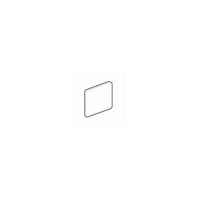 Sandalo 6 x 6 Surface Bullnose Corner Tile Trim in Castillian Gray (Set of 3)